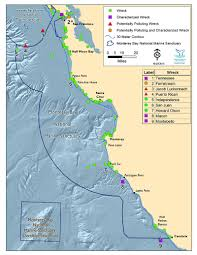 Cambria Map Monterey Bay 2015 Condition Report Update State Of Sanctuary