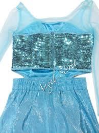 mat23 frozen elsa dress sparkly rectangular sequins on mesh for