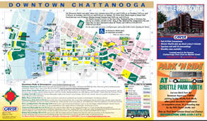 map of chattanooga tn chattanooga parking parking information
