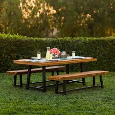 hton solid oak 120 160 laurel outdoor 3 solid wood dining set garden