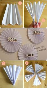 hanging paper fans make a fan party wall hanging birthday party hardy