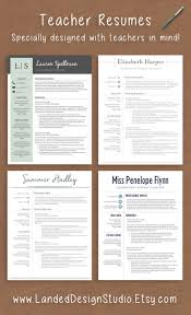 Attractive Resume Format For Experienced 25 Best Teacher Resumes Ideas On Pinterest Teaching Resume