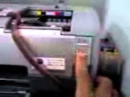 reset epson 1390 printer epson stylus photo 1390 blinking youtube