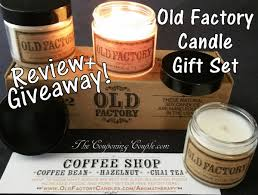 old factory candle set thumbs up review and giveaway