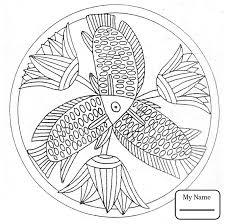 arts culture mandala hen animal mandalas coloring pages