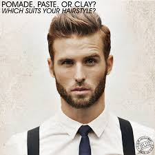 hairstyles to suit fla pomade paste or clay which suits your hairstyle bangstyle