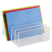 Desk Mail Organizer Letter Sorter The Container Store