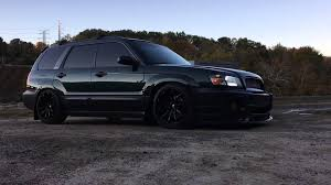 subaru forester lowered slammed forester youtube