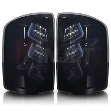 2005 gmc sierra tail lights 2015 gmc sierra 1500 led tail light black smoke