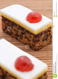 christmas fruit cake with marzipan royalty free stock photos