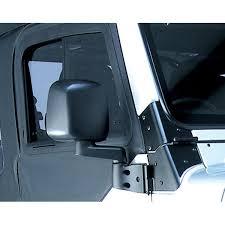 jeep wrangler mirrors rugged ridge 11002 10 door mirror black right side 87 06 jeep