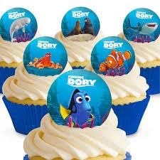 cakeshop 12 x pre cut finding dory finding nemo edible cake