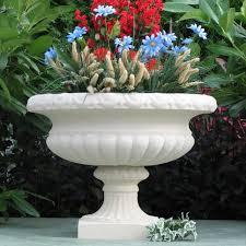 Outdoor Large Vases And Urns Sandstone Tudor Vase Urn Garden Planters And Garden Urns