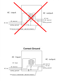 variac with ungrounded chassis page 1