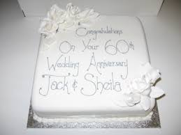 60th wedding anniversary ideas 60th wedding anniversary cake sargent s cakes