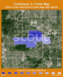 crestwood map crestwood il crime rates and statistics neighborhoodscout