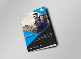 two fold brochure template psd travel brochure template 26 in psd vector eps