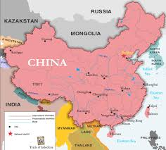 China World Map by China Map Trails Of Indochina
