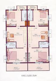 2 Bhk Home Design Plans by New House Design 3bhk Gallery And Bhk Independent Plans In Images
