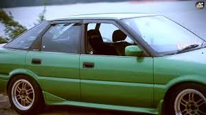 Toyota Corolla 1989 Toyota Corolla Sprinter Cielo Liftback Twincam Ae92 Returns Hd
