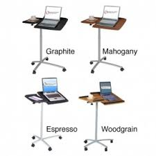 Ergonomic Laptop Desk Portable Workstation Portable Laptop Cart Foter
