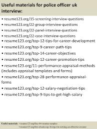 Uk Resume Template Top 8 Police Officer Uk Resume Samples