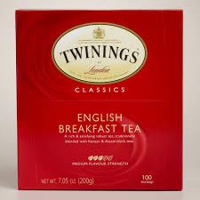 twinings breakfast tea 100 count world market