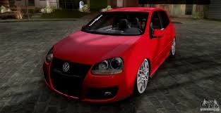 volkswagen golf stance volkswagen golf mk5 gti stance for gta san andreas