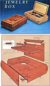 Wooden Jewellery Box Plans Free by Best 25 Jewelry Box Plans Ideas On Pinterest Wooden Box Plans