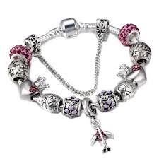 pandora bracelet charm bracelet images Spinner travel aircraft and earth charm bracelet women with crown jpg