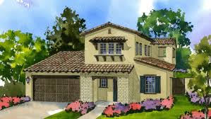 Adobe Style Home Plans Avocet At Esencia New Active Homes In Rancho Mission Viejo