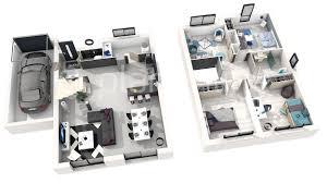 plan maison etage 3 chambres ides de plan maison 3d 4 chambres galerie dimages