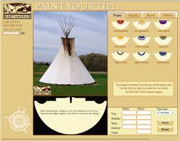 earthworks tipis introduces free online design tool for painting a online tipi painting toolan online tool that helps you to create a design for painting your tipi
