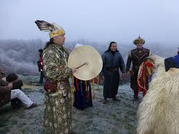 hungarian ambiance traditional winter solstice celebration in