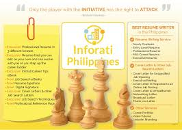 Free Resume Writing Services Online by Inforati Philippines Resume Writing Service