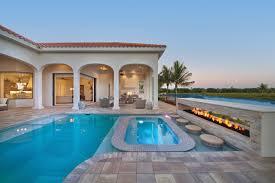 mediterranean house plans with pool world style modern living hwbdo76761 mediterranean modern
