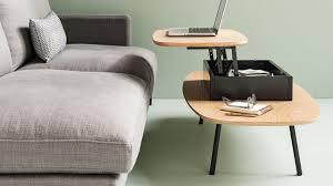 table pour canapé aménager un petit salon conseils plans décoration côté maison