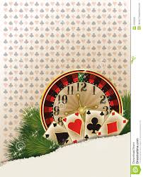merry christmas casino background cartoon vector cartoondealer