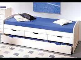 single bed with storage drawers white uk youtube