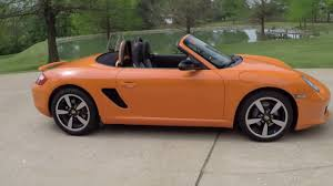 orange porsche convertible hd video 2008 porsche boster limited orange for sale info www