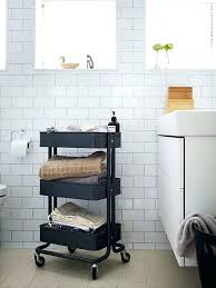 Bathroom Storage Cart Unique Bathroom Storage Cart Or Ad Storage Hacks In Bathroom 57