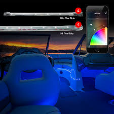 app controlled car lights strip xkglow xkchrome ios android app bluetooth control professional
