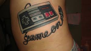 nintendo controller tattoo tattoo collections