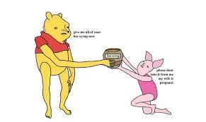 chris simpsons artist creates new winnie the pooh version and