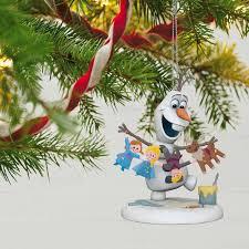 disney olaf s frozen adventure ornament keepsake ornaments