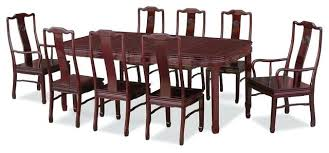 rosewood dining table 8 chairs 80 rosewood longevity design dining