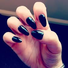 pointed acrylic nails pointy nail designs fingernail polish