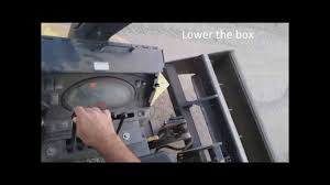 lever controls of a new holland skip loader youtube