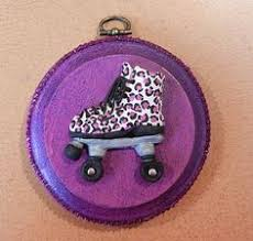 the rental skate roller derby roller skate ornament decoration