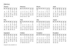 printable calendar yearly 2014 2014 yearly calendar printable roberto mattni co